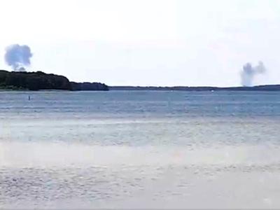 Δύο Eurofighter συγκρούστηκαν στον αέρα