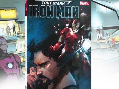 Κυκλοφόρησε από τις εκδόσεις Anubis το κόμικ «Tony Stark - Iron Man: Νέα Αρχή»