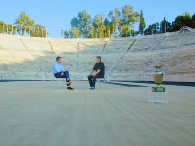 ΕURO 2004: Κ.Μητσοτάκης και Τ.Φύσσας θυμ...
