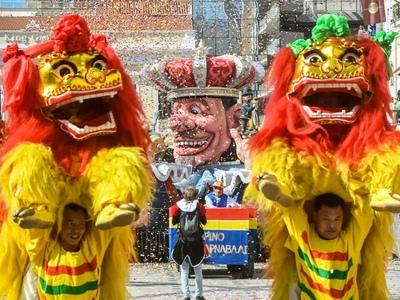 Ο Κινγκ Κονγκ, ο κινέζικος δράκος, οι δύο βασίλισσες και το άνθινο άρμα έκλεψαν τις εντυπώσεις