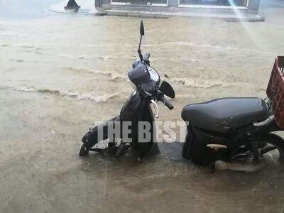 Πάτρα: Πλημμύρισαν μαγαζιά και σπίτια απ...