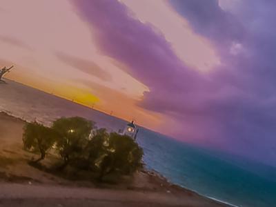 Ένα όμορφο ηλιοβασίλεμα στο Δρέπανο -ΒΙΝΤΕΟ