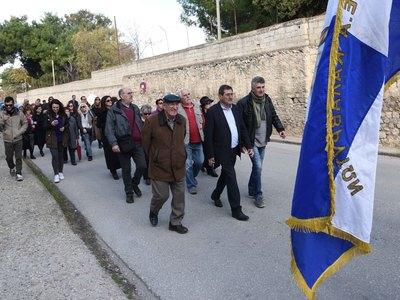 Πάτρα: Εκδήλωση μνήμης για τους εκτελεσμένους αγωνιστές της Εθνικής Αντίστασης