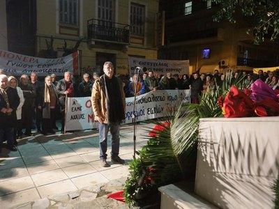 Ο Τάκης Πετρόπουλος εκπροσώπησε το Δήμο ...