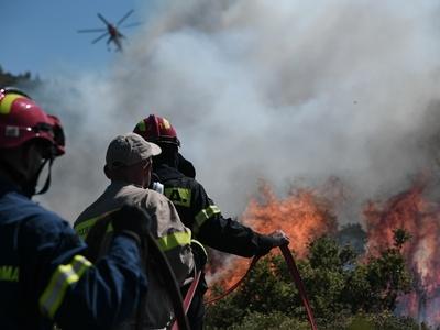 Αχαΐα - ΤΩΡΑ: Μεγάλη φωτιά στη Ζήρια- Σε...