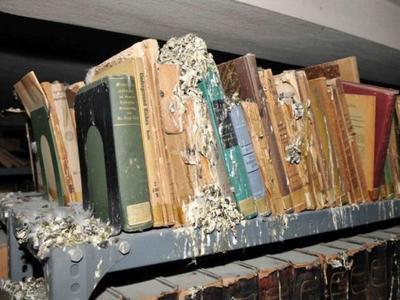 Δείτε βίντεο από την εικόνα ντροπής στην ιστορική Δημοτική Βιβλιοθήκη της Πάτρας