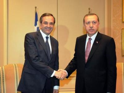 Την Παρασκευή η συνάντηση Σαμαρά-Ερντογάν
