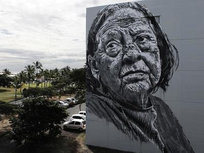 Στην Φαβιέρου η 5η τοιχογραφία του Street Art Φεστιβάλ Πάτρας
