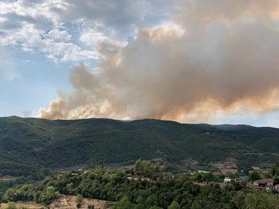 Αγρίνιο: Μεγάλη πυρκαγιά κοντά στη Σκουτεσιάδα