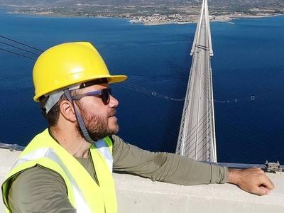 """""""Η εμπειριάρα"""" του Ευτύχη Μπλέτσα στη Γέφυρα Ρίου - Αντιρίου"""