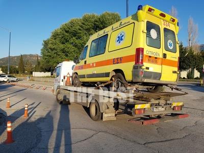 Ο κορωνοϊός χτύπησε και τα ασθενοφόρα, στην Πάτρα - Οχήματα εκτός μάχης