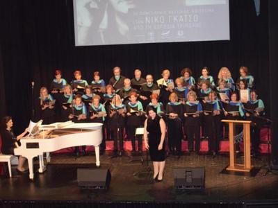 Η χορωδία της Κοινο_Τοπίας στο Πανελλήνιο Φεστιβάλ για το Νίκο Γκάτσο