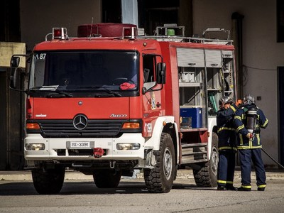 Φωτιά σε σπίτι στο Αίγιο - Ένας τραυματίας στο νοσοκομείο