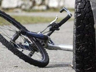 Νταλίκα παρέσυρε ποδηλάτη στα Δεμένικα Πατρών