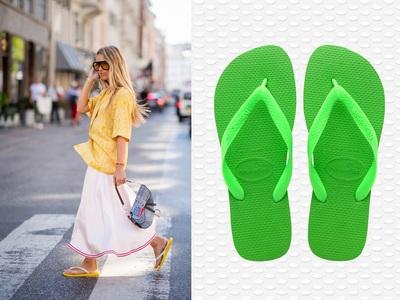Γαλλική Vogue: «Πετάξτε» αθλητικές παντόφλες, φορέστε flip-flop σαγιονάρες