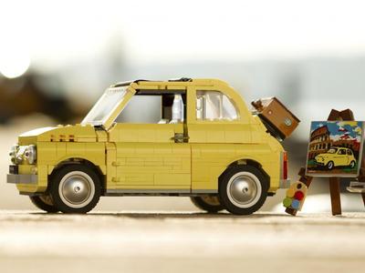 Το «πεντακοσαράκι» της Fiat από κυβάκια