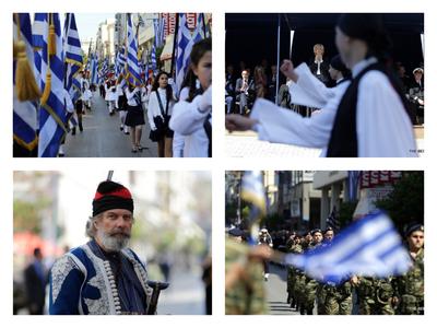 46 φωτογραφίες από την παρέλαση για την 25η Μαρτίου στην Πάτρα – Όλα όσα έγιναν
