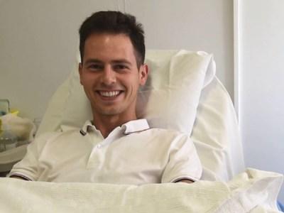 Ο 100ος εθελοντής στο ΚΕΔΜΟΠ που χάρισε ζωή σε ασθενή με λευχαιμία!