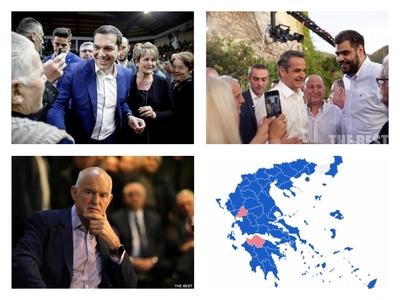 Στραμμένα στην Αχαΐα τα φώτα της εκλογικής μάχης του Ιουλίου