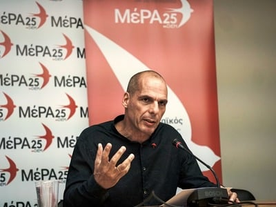 Βαρουφάκης: Τα προγράμματα ΝΔ και ΣΥΡΙΖΑ δεν μπορούν να εφαρμοστούν χωρίς ρήξη με τους δανειστές