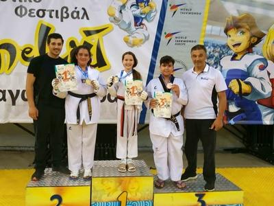Πέντε μετάλλια για τη Δύναμη Πατρών στο Kim e liu