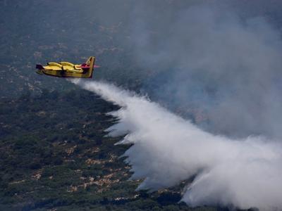 Μεσολόγγι: Μεγάλη φωτιά στην Αστροβίτσα