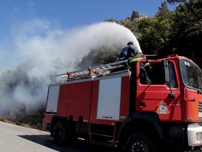Κι άλλη φωτιά από κεραυνό στην Ηλεία!
