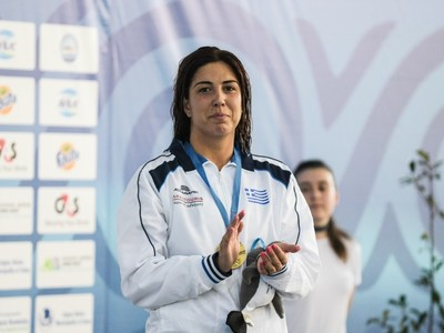 AΦΙΕΡΩΜΑ: Η γιατρίνα που σαρώνει τα μετάλλια, έτοιμη για τους Παράκτιους Μεσογειακούς της Πάτρας