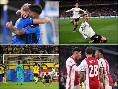 Οι καλύτερες στιγμές και τα γκολ της πρεμιέρας του Champions League - BINTEO