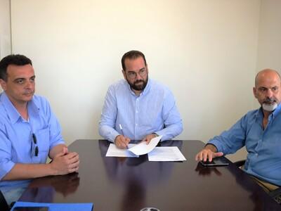 Υπογραφές για αντιπλημμυρικά έργα στον Βουραϊκό