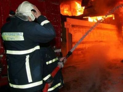 Υπό μερικό έλεγχο η φωτιά στη Μέλισσα Ηλείας