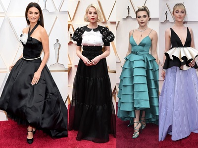 Oscars Red Carpet: Διαχρονικό Black & White κόντρα στο... αξιοθέατο Μπραντ Πιτ