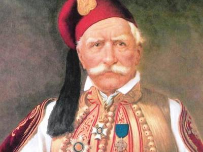 Βασίλειος Πετμεζάς Φιλικός Στρατηγός. Εκ των πρωτεργατών της Ελληνικής Εθνεργεσίας
