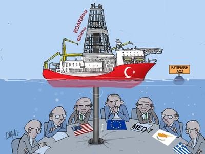 Η Τουρκία, η κυπριακή ΑΟΖ και η Ευρωπαϊκή Ένωση με το πενάκι του Dranis