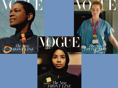 Όχι μοντέλα και stars, αλλά εργαζόμενες γυναίκες στο εξώφυλλο της βρετανικής Vogue