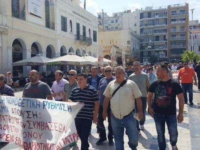 Διαμαρτυρία των Δημάρχων της Αχαΐας για τη μη ανανέωση συμβάσεων εργαζομένων στους Δήμους