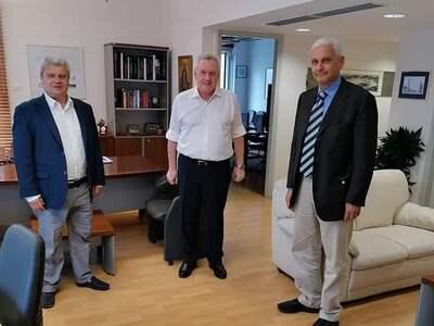 Συνάντηση Φ. Ζαΐμη με τον Γ.Γ. Έρευνας κ...