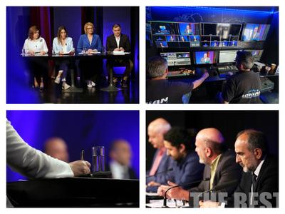 Όλα όσα έγιναν πίσω από τις κάμερες στο debate των υποψηφίων στην Περιφέρεια