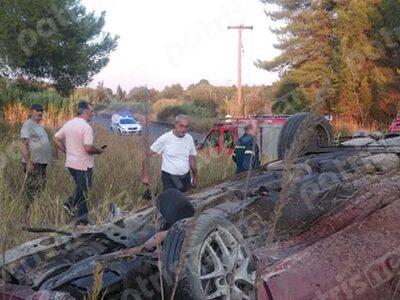 Βαρβάσαινα: Άγιο είχε οδηγός οχήματος πο...