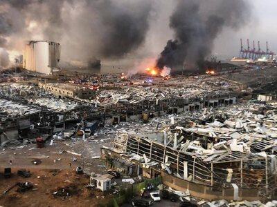 Εικόνες αποκάλυψης στη Βηρυτό –  Δεκάδες...