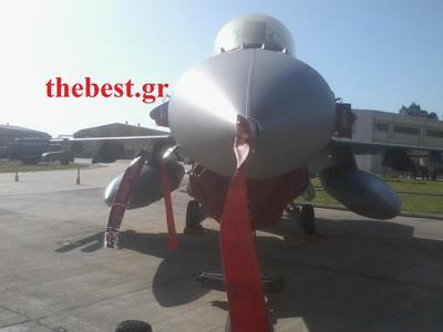 """Το  thebest.gr στην 116 Πτέρυγα Μάχης του Αράξου – Σας αποκαλύπτουμε, μέσα από το πιλοτήριο, τα """"μυστικά"""" της πτήσης των F-16 –  ΦΩΤΟ & ΒΙΝΤΕΟ"""