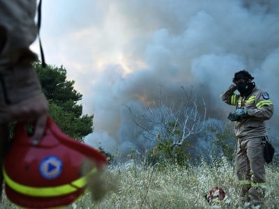Πολύ υψηλός κίνδυνος πυρκαγιάς τη Δευτέρ...