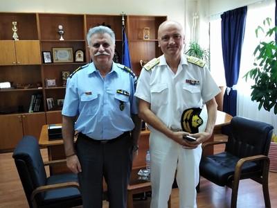 Εθιμοτυπική επίσκεψη από τον Περιφερειακό Διοικητή του Λιμενικού στο νέο Γενικό Αστυνομικό Διευθυντή