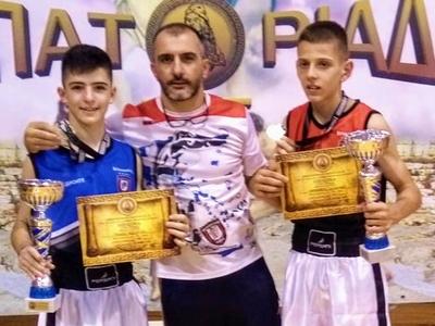 Δύο χρυσά μετάλλια για τους Boxerinos στη Θεσσαλονίκη