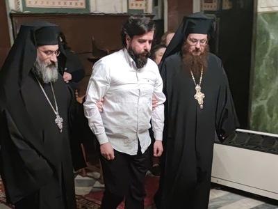 Κουρά Μοναχού στην Ιερά Μονή Ταξιαρχών Αιγιάλειας