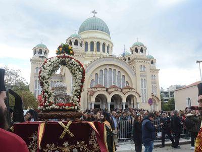 Λαμπρός εορτασμός στην Πάτρα για τον Πολιούχο της, Άγιο Ανδρέα