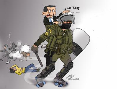 Φοιτητές, αστυνομία, κυβέρνηση κι επεισόδια με το πενάκι του Dranis