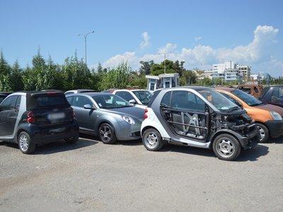 Φουλ στα... κλεμμένα οχήματα το πάρκινγκ της Αστυνομίας