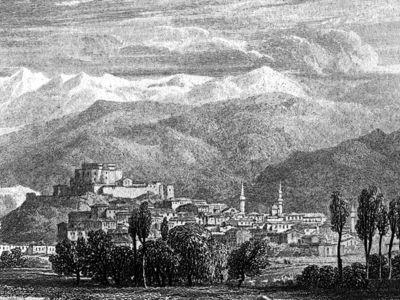 Το κάστρο της Πάτρας περί το 1829