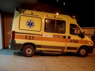 Αίγιο: Στο νοσοκομείο 53χρονος μετά από παράσυρση